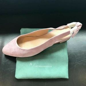Lilac Flat Sandals